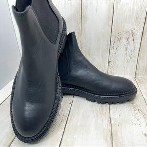 AGL Lug Sole Chelsea Combat Boots Women's Size 7.5
